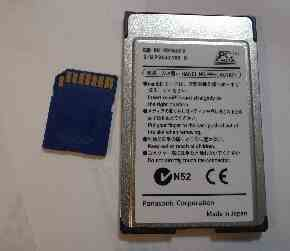 カードアダプタ bn-sdmaap3