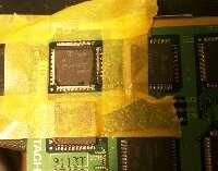 生かす液晶のIC交換前の下準備