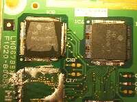 ジャンクの液晶からICを取り出す
